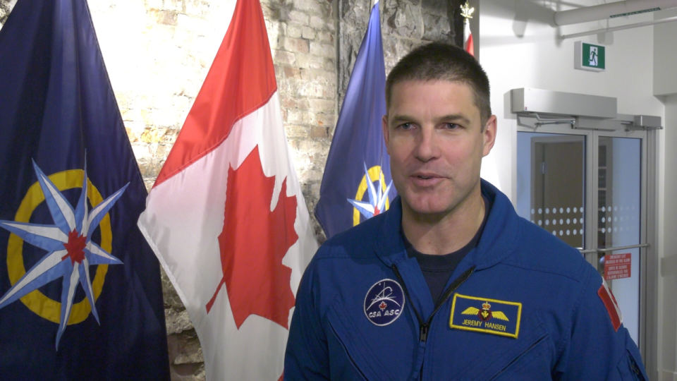 Prior to joining the Canadian Space Program, Col. Hansen served as a CF-18 fighter pilot and held the position of combat operations officer at 4 Wing in Cold Lake, Alta. according to his bio with the Canadian Space Agency. (CTV Ottawa)
