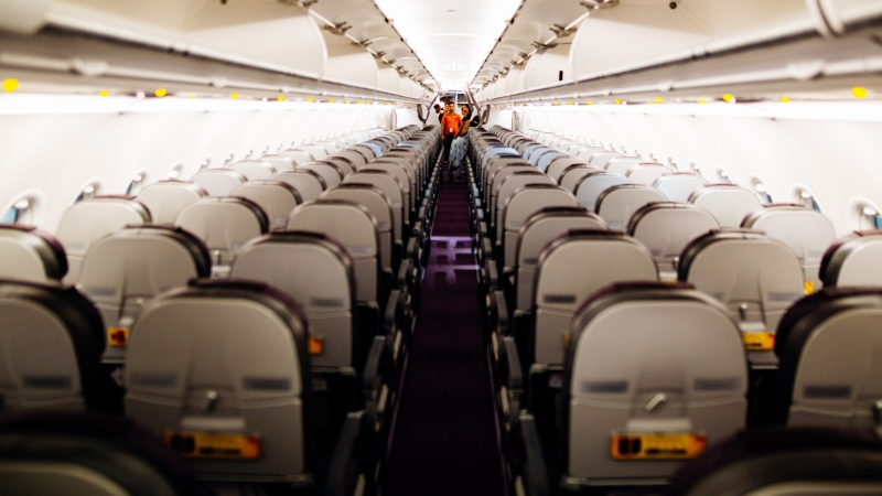 A viral video showing a dispute over reclining an airplane seat has prompted bitter arguments about who was at fault. (Kelly Lacy / Pexels)