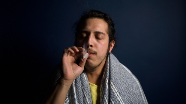 A man can be seen smoking cannabis in this photo. (Brandon Nickerson/ Pexels)