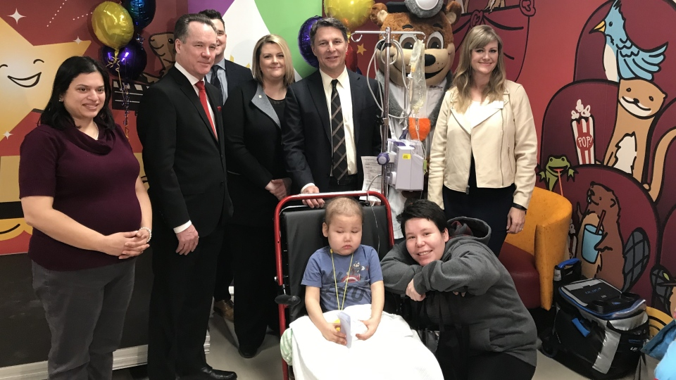 A comfort fund is now available for families of child cancer patients at Jim Pattison Children's Hospital. (Chad Leroux/CTV Saskatoon)