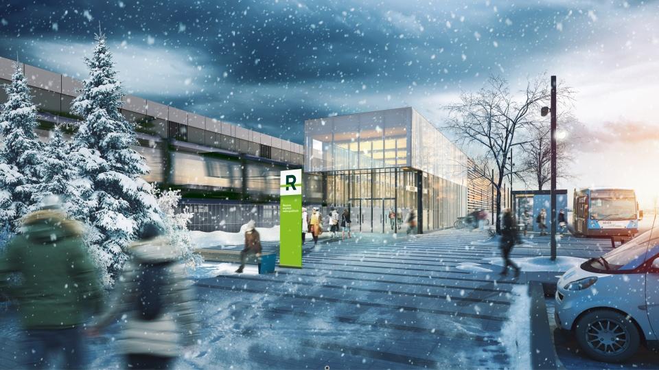 REM's Du Ruisseau station