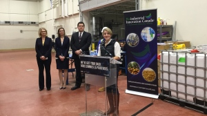 Minister Melanie Joly announces $15 million dollar investment and 600 new jobs (CTV News / Reta Ismail)
