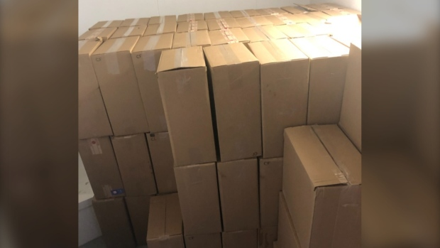 Over a million contraband cigarettes discovered during traffic stop near Falcon Lake, Man.