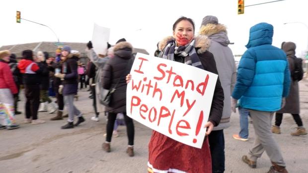 Scheer's 'check their privilege' comment on protesters disturbing: FSIN