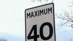 40 km/h standard speed limit in Edmonton by 2021
