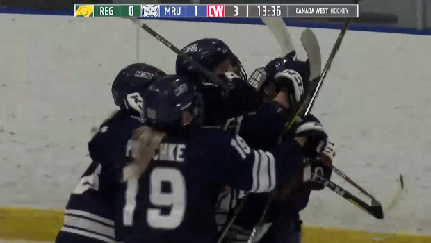 Watch: MRU Cougars' women's team have high hopes as they enter the playoffs. Glenn Campbell reports.