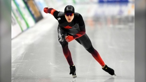 Calgary resident Ted-Jan Bloeman won the 5,000 metre race at the world championships in Salt Lake City Thursday.