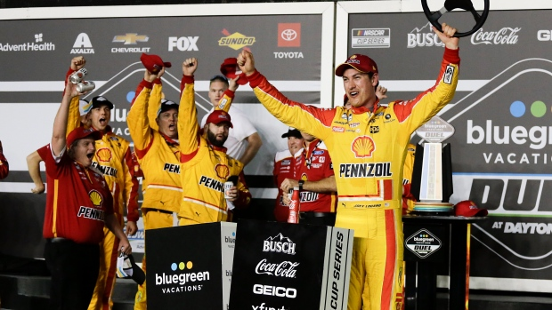 Logano, Byron win Daytona 500 qualifying races