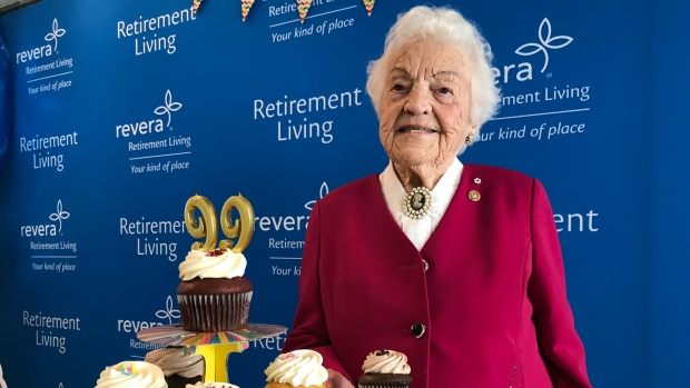 'I don't want to get old': Hazel McCallion celebrates 99th birthday in style