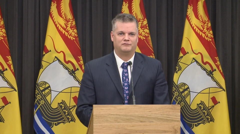 New Brunswick deputy premier Robert Gauvin has announced he is quitting the governing Progressive Conservatives in protest over health-care reforms. (File photo)