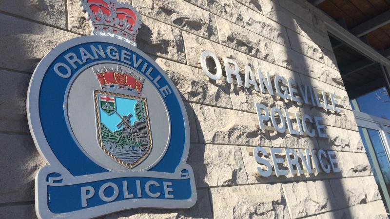 Orangeville Police Service file image.