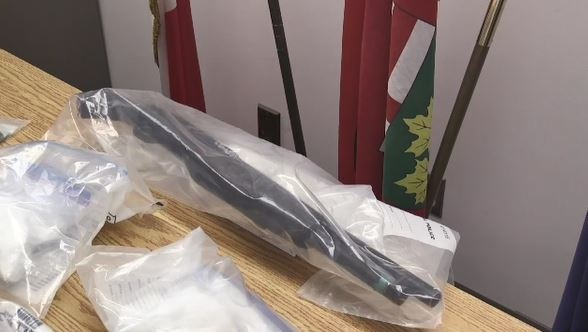 Shotgun found by Sault Ste. OPP during search
