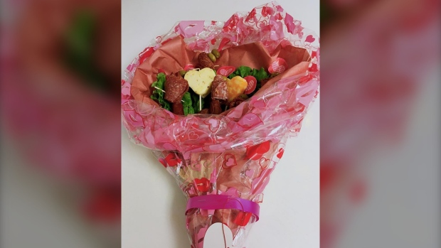 The ultimate meat cute: Winnipeg butcher offering bouquets made of sausage