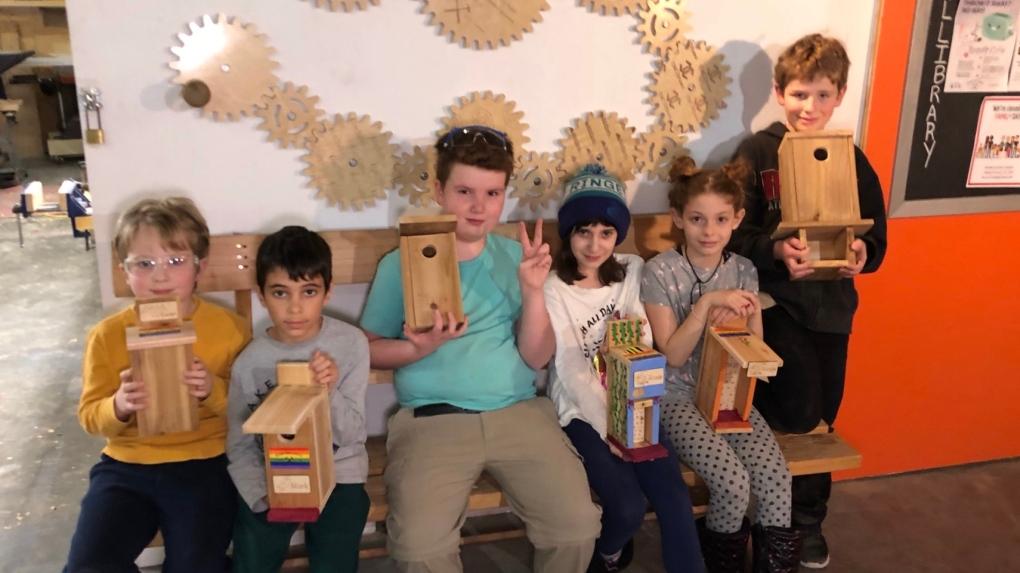 Ottawa Tool Library - kids camp
