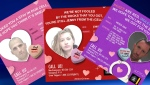 The Calgary Police Service released its series of #ValenCrimes cards on Friday, Feb. 14