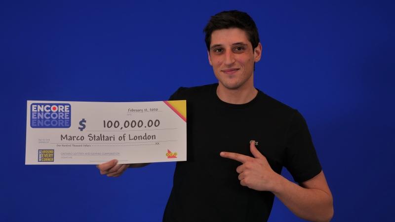 Marco Staltari of London