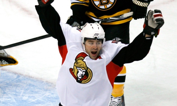 Number 4 to be raised to the rafters as Senators fans salute former defenceman Chris Phillips, who played an entire career in Ottawa