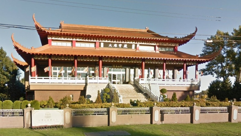 The Lingyen Mountain Temple said it is closing its doors until further notice in a effort to stop the spread of COVID-19. (Google Maps image)