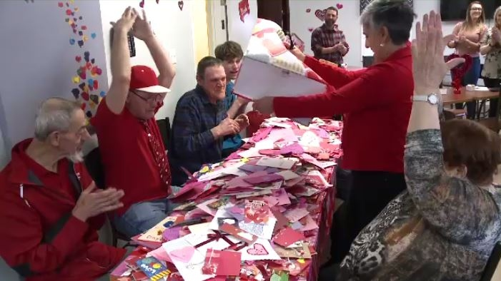 Hundreds -- if not thousands -- of cards poured in and many of them were from students at local schools.