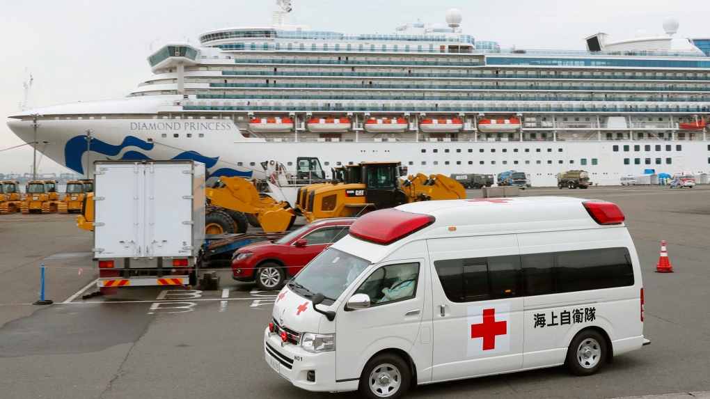 66 more test positive for novel coronavirus on cruise ship in Japan