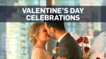 Couple celebrate their love with Valentine's day w