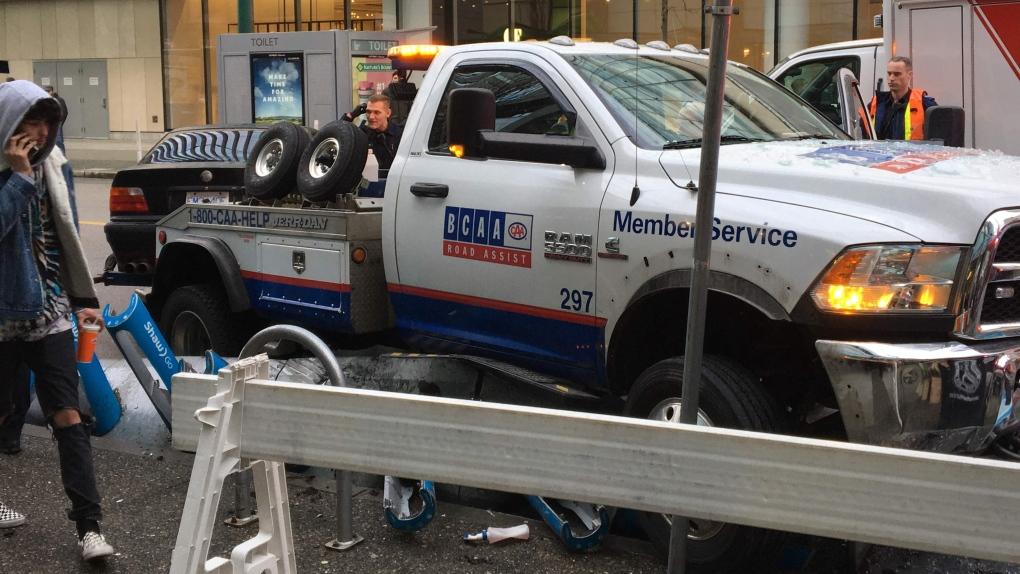 Stolen BCAA truck
