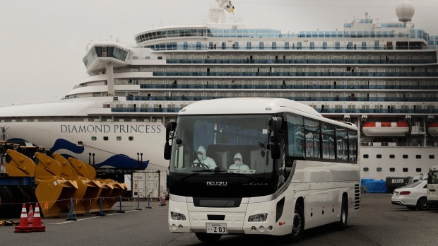 Quebecois couple on quarantined cruise ship in Japan test positive for coronavirus