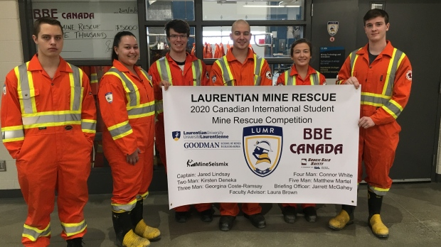 Students head to International Mine Rescue Competition