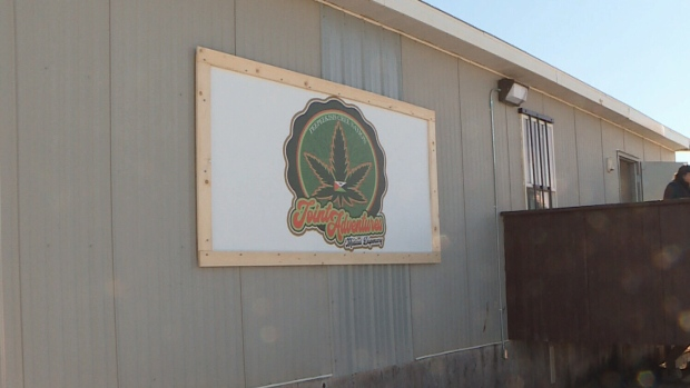 Peepeekisis Cree Nation opened its first cannabis store on Saturday, February 15, 2020.