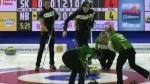 Team Sask. wins first Scotties match