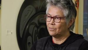 The medals were designed by Corrine Hunt, an Indigenous carver, designer and artist from Alert Bay.