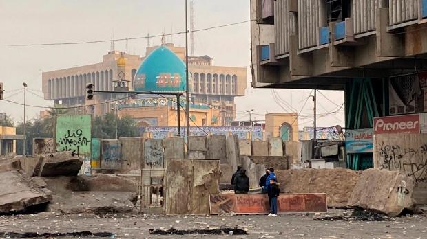Rockets strike near U.S. Embassy in Baghdad; no injuries