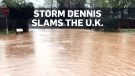 Storm Dennis batters the U.K. with high winds, hea