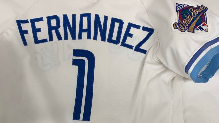 Tony Fernandez jersey