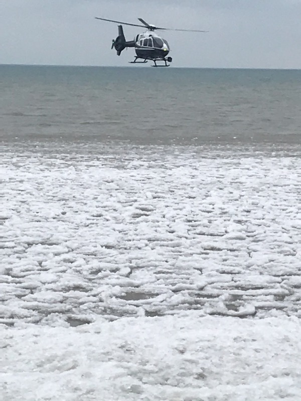 Helicopter search