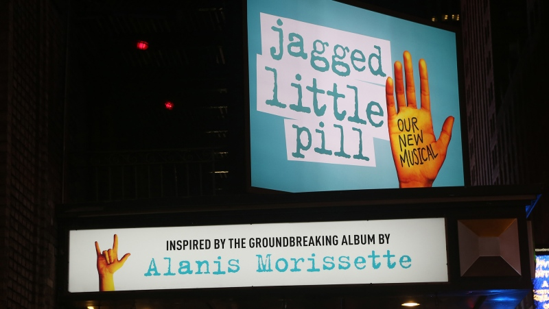 Theatregoers in New York were evacuated from a performance of the Broadway musical 'Jagged Little Pill' after someone released a substance inside the auditorium. (Bruce Glikas/WireImage/Getty Images/CNN)