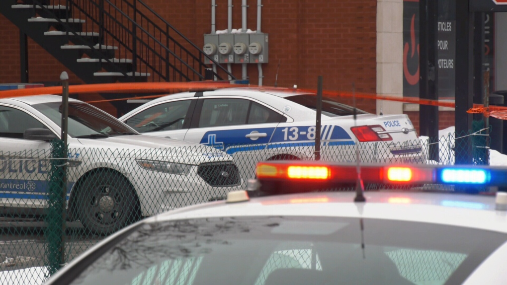 Homicide near Cote Vertu metro