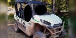 The ATV has yet to be located. It is described as a white and black 2016 Kawasaki Teryx with neon green highlights. Its Vehicle Identification Number is JKBRTCF19GB50050.