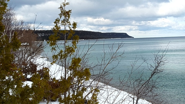 John Hudson, Dyers Bay