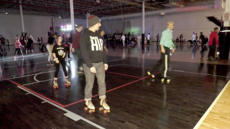 The Roller Recreation Association held the second annual Lloyds Legacy Skate on Saturday,
