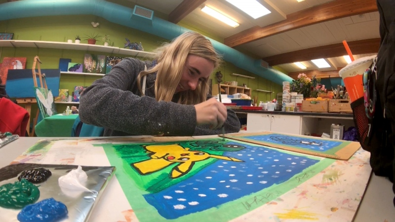 Indefinite Arts currently serves more than 300 artists living with disabilities.
