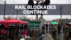 More protests as nationwide rail blockades continu