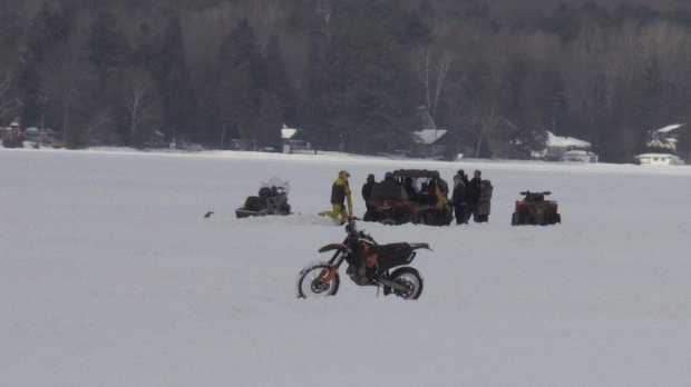 Man sent to hospital after motorcycle crash on Bass Lake