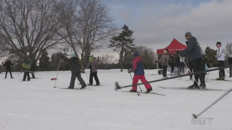 new ski trails Kitchener
