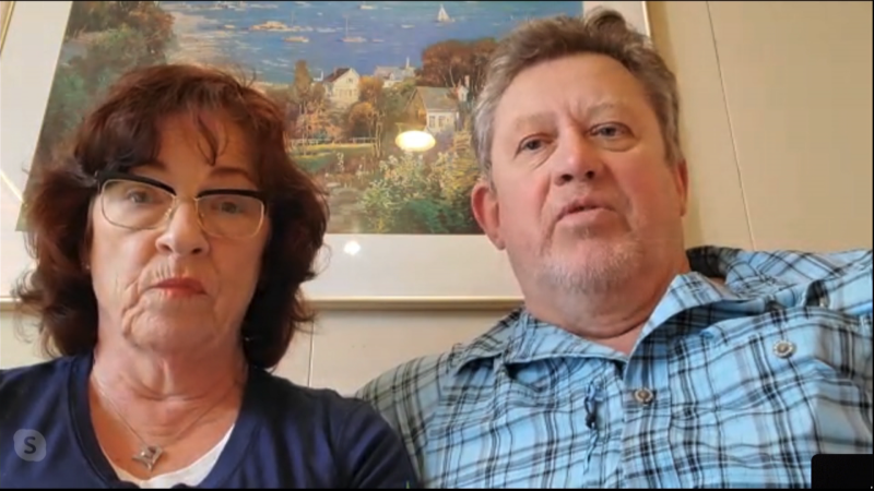 On Feb. 16, 2020, Jenny and Mark Rodrigue were awaiting test results that would determine whether they're allowed to return to Canada or will be transferred to a Japanese hospital.