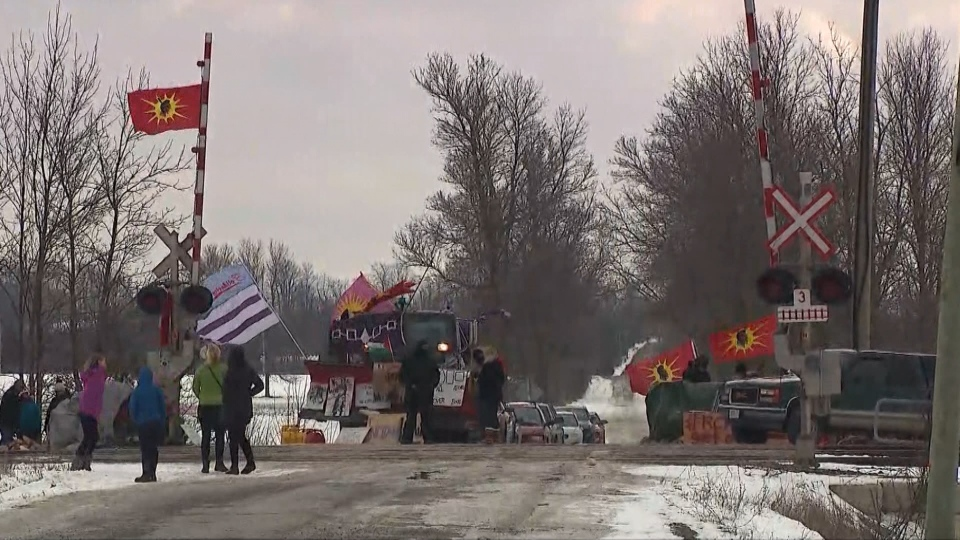 For 11 days now, groups across the country have taken to the streets in protest – in some cases blocking key transportation infrastructure, including rail lines and ports. (CTV)