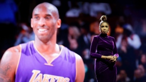 Jennifer Hudson sings a tribute to former NBA All-Star Kobe Bryant and his daughter Gianna, who were killed in a helicopter crash Jan. 26, before the NBA All-Star basketball game Sunday, Feb. 16, 2020, in Chicago. (AP Photo/Nam Huh)