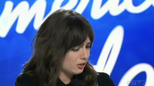 London singer Saveria appears on American Idol