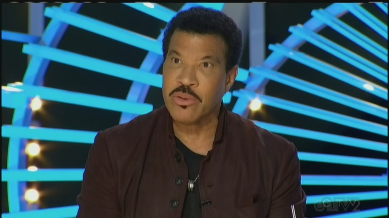 Lionel Richie on American Idol.