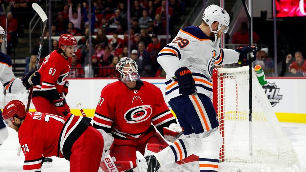 Archibald, Draisaitl lift Oilers over Hurricanes